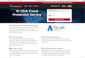 Campaign Protection - AdWords Click Fraud Protection